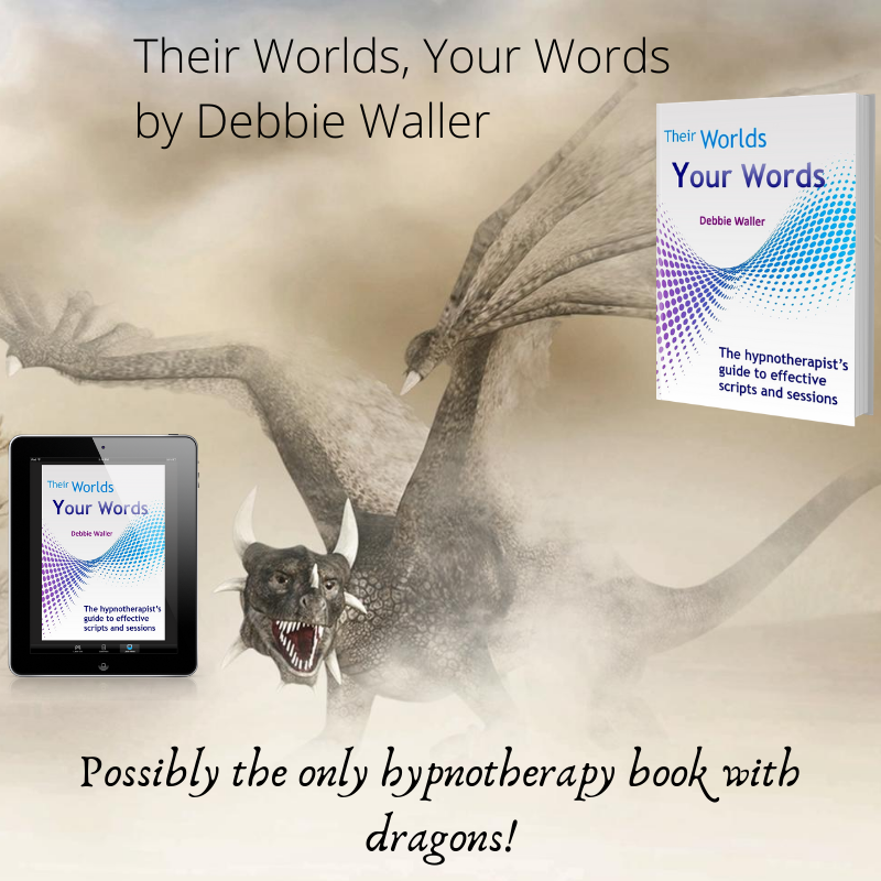 possibly the only hypnotherapy book with dragons!