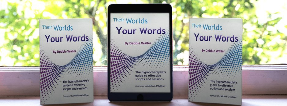 their worlds, your words, author Debbie Waller